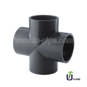 Chemical UPVC Cross ASTM D2467 (SCH 80) pictures & photos