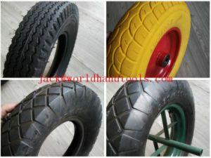 Trolley Wheel Pneumatic Tire Wheelbarrow Tire 350-8 pictures & photos
