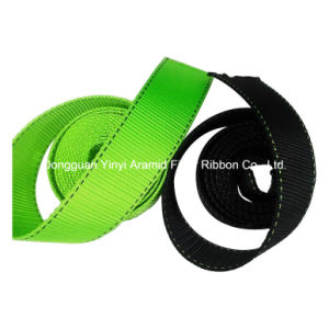 High Strength Polyester Safety Belt Webbing pictures & photos