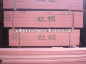 Red Walnut Engineering Artificial Wood Panel pictures & photos