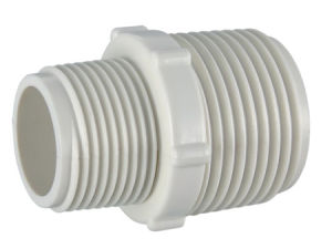 PVC-U BS Theraded Pipe Fittings Reducing Male Adapter pictures & photos