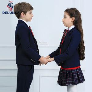 Latest Designs Winter Black School Uniform Blazer pictures & photos