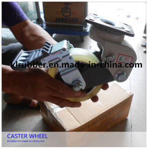 "6"" Nylon Heavy Duty Double Brake Castor pictures & photos"