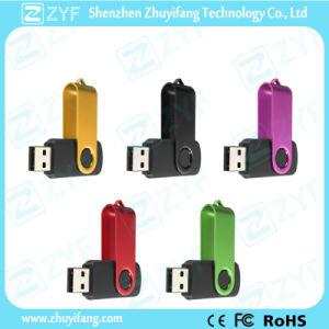 Custom Logo Hot Sale Swivel Twist USB Flash Drive (ZYF1257) pictures & photos