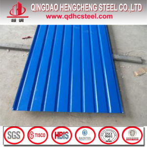 Prepainted Galvanized Corrugated Sheet for Roofing Tile pictures & photos