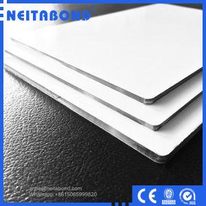 Signage Flatness UV Digital Printing 4mm White Coating ACP Panel pictures & photos
