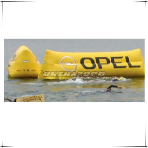 Custom Made Yellow Color Floating Inflatable Billboard pictures & photos