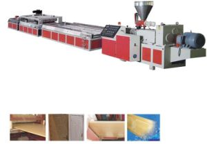 Famours WPC Door Extruding Production Line with Good Quality pictures & photos