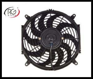 "Auto 12"" AC Fan 12V/24V 80W, Blower / Suck Air Fan, Auto Condensation Fan"