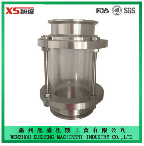 Stainless Steel Ss304 Food Grade Sanitary 50.8mm Tri Clover Sight Glass pictures & photos