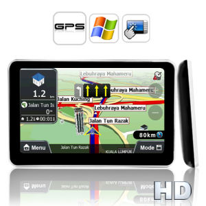 5 Inch HD Touch Screen GPS Navigator (Direct WIN CE Access) pictures & photos