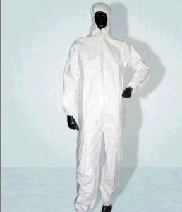 Microporous Breathable Disposable Coveralls with Hood Elastic Cuff pictures & photos