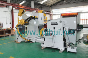 Automation Machine 3 in 1 Straightener Feeder with Nc Servo Feeder Help to Making Car Parts pictures & photos