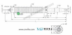 Oip Condenser Transformer Bushing for Export pictures & photos