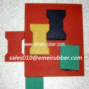 Recycled Rubber Paver Tile for Garage with En1177 pictures & photos