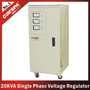 China Motor Type Single Phase Automatic Voltager