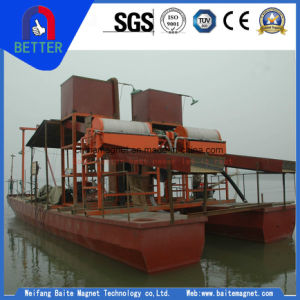 Iron Sand Pumping & Separating Dredging Boat for Sea Sand Mining pictures & photos