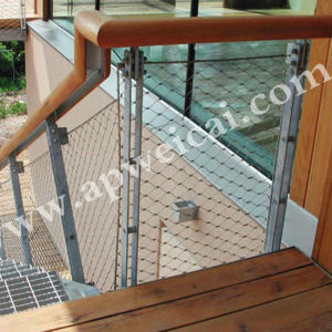 Stainless Steel Wire Rope Net Stair Mesh