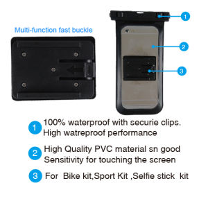 Sport Kit Waterproof Pouch Armband with Mobile Phone pictures & photos