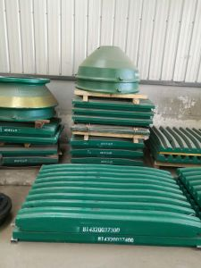 Jaw Plates-Manganese-C125-Jaw Crusher-Metso pictures & photos