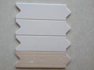 80x250mm Arrow Listello Border White Colour for Bathroom (82501)