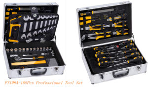 109PCS Professiona Alumium Case Tool Set (FY109A) pictures & photos