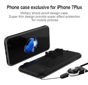 Supply Wide Angle, Telephoto and Macro Fisheye Lenses 6 in 1 Universal Mobile Phone Camera Lens Case for iPhone7/7plus pictures & photos