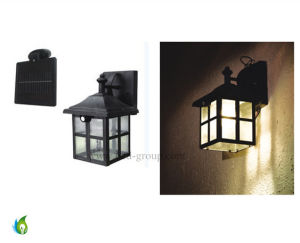 High Quality Solar PIR Human Induction Wall Light LED Solar Wall Light pictures & photos