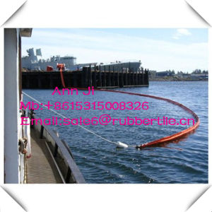 ASTM Connector Rubber Oil Spilt Boom, Oil Resistanubber Seaweed Barrier pictures & photos