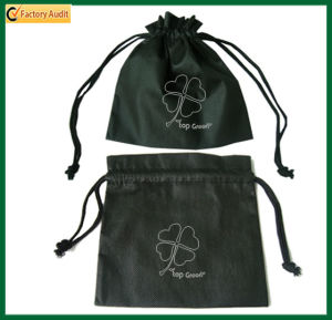 Recycle Gift Pouch Non Woven Drawstring Bag (TP-dB010) pictures & photos