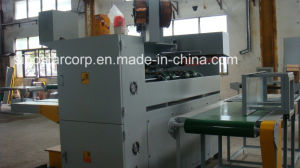 Double Servo Semi-Automatic Corrugated Box Stapler Machine pictures & photos