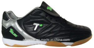 Athletic Footwear Men Soccer Indoor Futsal Shoes (816-6895) pictures & photos