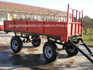 Trailer Farm Machinery Tractor Mounted Dumping Trailer 5 Ton pictures & photos