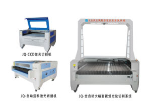 Jq1610 Cheap Price Fabric Laser Cutting with Camera pictures & photos