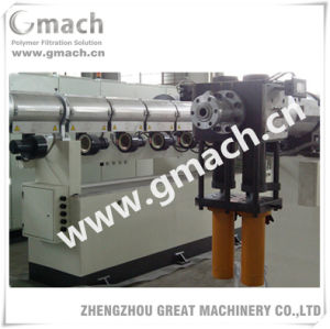Continuous Screen Changer for Polymer Melt in Plastic Extrusion Machine pictures & photos
