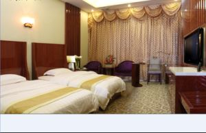 Hotel Bedroom Furniture/Luxury Double Bedroom Furniture/Standard Hotel Double Bedroom Suite/Double Hospitality Guest Room Furniture (CHN-005) pictures & photos