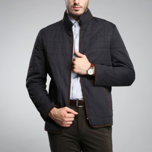 Mens Causal Quilted Jackets 2017 New Style pictures & photos