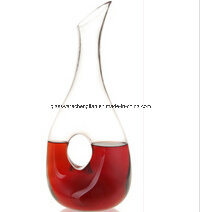 Handmade Antique Single Glass Wine Decanter (XJQ-07) pictures & photos