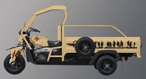 New Fashionable Moto Tricycle Trike with 250cc, 300cc, 350cc Engine pictures & photos