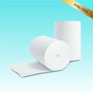 Cotton&Polyester Blend Spunlace Nonwoven Fabric pictures & photos