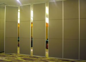 China Foldable Sound Proof Partitions Used in Interior Decoration