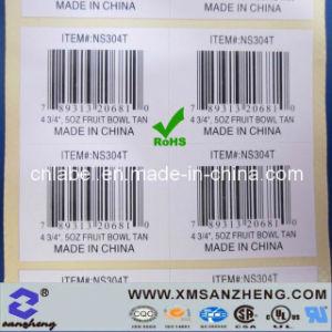 Custom Barcode Sticker (SZ3070) pictures & photos