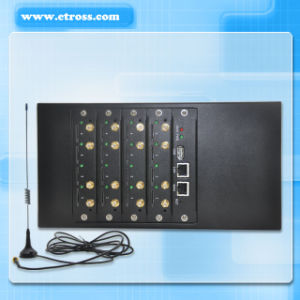 16/32 Ports GoIP Gateway, Coip, GSM VoIP Gateway Supporting Ussd, Iemi Change, SMS pictures & photos