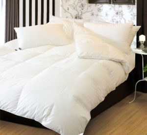 Polyester Quilted White Bed Cover Duvet Cover pictures & photos
