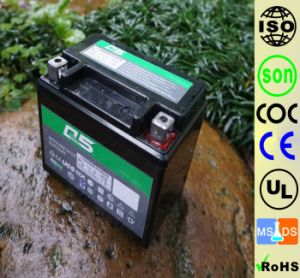 YTX5L YT5 12V4AH High Starting Performance AGM Sealed maintenance free lead acid motorcycle battery pictures & photos
