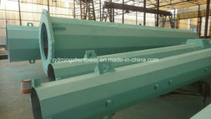 Electric Power Transmission Line Steel Pole
