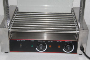 Hot Dog Roller with Stainless Steel Glass Cover pictures & photos