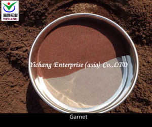 Sand Blasting Garnet pictures & photos