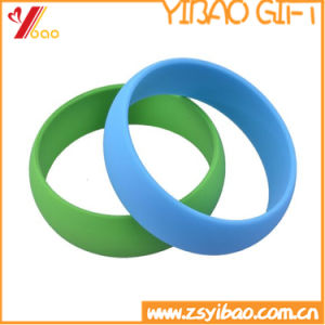 Personalized Printed Logo Silicone Wristband (YB-SL-03) pictures & photos