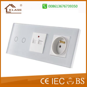 Hot Selling Double Germany EU Wall Socket pictures & photos